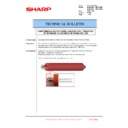 Sharp MX-6240N, MX-7040N (serv.man95) Technical Bulletin