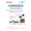 Sharp MX-6240N, MX-7040N (serv.man96) Technical Bulletin