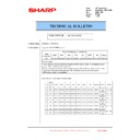 Sharp MX-6240N, MX-7040N (serv.man97) Technical Bulletin