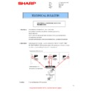 Sharp MX-6500N, MX-7500N (serv.man104) Technical Bulletin