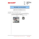 Sharp MX-6500N, MX-7500N (serv.man106) Technical Bulletin