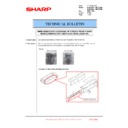 Sharp MX-6500N, MX-7500N (serv.man107) Technical Bulletin