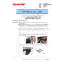 Sharp MX-6500N, MX-7500N (serv.man110) Technical Bulletin
