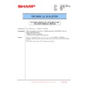 Sharp MX-6500N, MX-7500N (serv.man127) Technical Bulletin