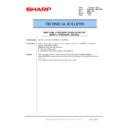 Sharp MX-6500N, MX-7500N (serv.man128) Technical Bulletin