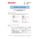 Sharp MX-6500N, MX-7500N (serv.man129) Technical Bulletin