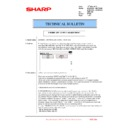 Sharp MX-6500N, MX-7500N (serv.man133) Technical Bulletin