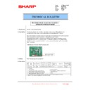 Sharp MX-6500N, MX-7500N (serv.man137) Technical Bulletin