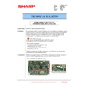 Sharp MX-6500N, MX-7500N (serv.man138) Technical Bulletin