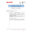 Sharp MX-6500N, MX-7500N (serv.man139) Technical Bulletin