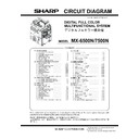 Sharp MX-6500N, MX-7500N (serv.man30) Service Manual