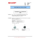 Sharp MX-6500N, MX-7500N (serv.man81) Technical Bulletin
