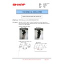 Sharp MX-6500N, MX-7500N (serv.man82) Technical Bulletin