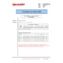 Sharp MX-6500N, MX-7500N (serv.man87) Technical Bulletin