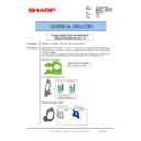 Sharp MX-6500N, MX-7500N (serv.man93) Technical Bulletin