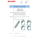 Sharp MX-6500N, MX-7500N (serv.man96) Technical Bulletin