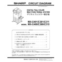 Sharp MX-C310, MX-C311, MX-C312, MX-C380, MX-C381, MX-C400, MX-C401 (serv.man13) Service Manual