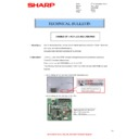 Sharp MX-C310, MX-C311, MX-C312, MX-C380, MX-C381, MX-C400, MX-C401 (serv.man141) Technical Bulletin