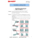 Sharp MX-C310, MX-C311, MX-C312, MX-C380, MX-C381, MX-C400, MX-C401 (serv.man147) Technical Bulletin