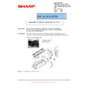 Sharp MX-C310, MX-C311, MX-C312, MX-C380, MX-C381, MX-C400, MX-C401 (serv.man32) Technical Bulletin