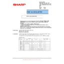 Sharp MX-C310, MX-C311, MX-C312, MX-C380, MX-C381, MX-C400, MX-C401 (serv.man33) Technical Bulletin