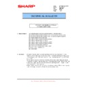 Sharp MX-C310, MX-C311, MX-C312, MX-C380, MX-C381, MX-C400, MX-C401 (serv.man79) Technical Bulletin