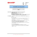 Sharp MX-C310, MX-C311, MX-C312, MX-C380, MX-C381, MX-C400, MX-C401 (serv.man86) Technical Bulletin