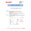 Sharp MX-C380P, MX-C400P, MX-B380P, MX-B382P, MX-B400P (serv.man40) Technical Bulletin