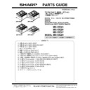 Sharp MX-DE25, MX-26, MX-27 (serv.man4) Parts Guide