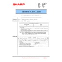 Sharp MX-FN17, MX-PN11 (serv.man17) Technical Bulletin
