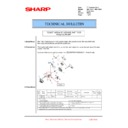 Sharp MX-FN21, MX-FN22, MX-PN13 (serv.man23) Technical Bulletin