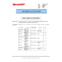 Sharp MX-FN21, MX-FN22, MX-PN13 (serv.man25) Technical Bulletin