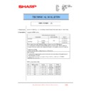 Sharp MX-FN21, MX-FN22, MX-PN13 (serv.man28) Technical Bulletin