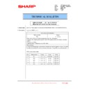 Sharp MX-FN21, MX-FN22, MX-PN13 (serv.man31) Technical Bulletin