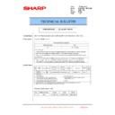 Sharp MX-FN21, MX-FN22, MX-PN13 (serv.man33) Technical Bulletin