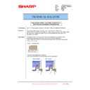 Sharp MX-FN21, MX-FN22, MX-PN13 (serv.man36) Technical Bulletin
