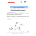 Sharp MX-FN21, MX-FN22 (serv.man27) Technical Bulletin