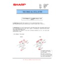 Sharp MX-FN21, MX-FN22 (serv.man29) Technical Bulletin