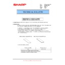 Sharp MX-FN21, MX-FN22 (serv.man31) Technical Bulletin