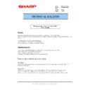 Sharp MX-FN21, MX-FN22 (serv.man33) Technical Bulletin