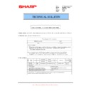 Sharp MX-FN21, MX-FN22 (serv.man35) Technical Bulletin