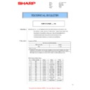 Sharp MX-FNX10 (serv.man13) Technical Bulletin