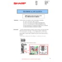 Sharp MX-FNX10 (serv.man14) Technical Bulletin