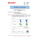 Sharp MX-FNX10 (serv.man22) Technical Bulletin