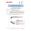 Sharp MX-FNX10 (serv.man23) Technical Bulletin