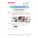 Sharp MX-FNX10 (serv.man30) Technical Bulletin