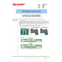 Sharp MX-FNX10 (serv.man31) Technical Bulletin