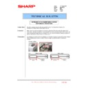 Sharp MX-FNX10 (serv.man32) Technical Bulletin