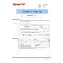 Sharp MX-FNX10 (serv.man33) Technical Bulletin