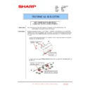 Sharp MX-FNX10 (serv.man34) Technical Bulletin